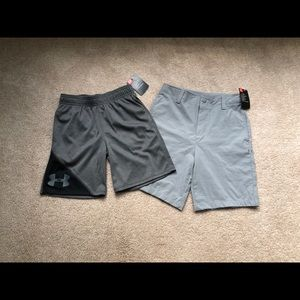 Size 7 under armour shorts NWT